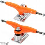 "GULLWING ""Super Pro III"" Skateboard Trucks 9.0"" Old Skool 1980s ORANGE ""Pro 3"" Reissues"